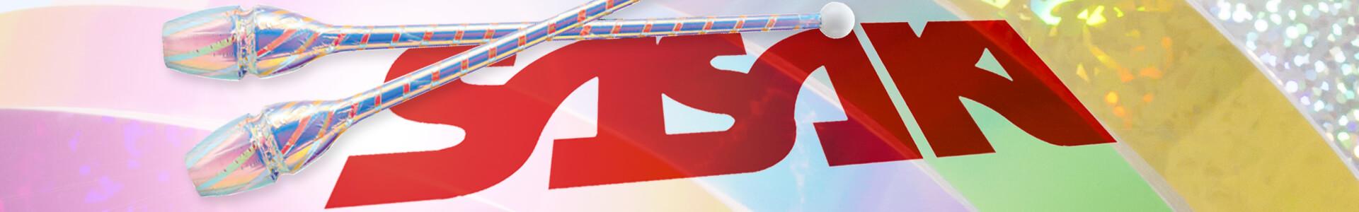 Folien Sasaki zum Dekorieren von RSG Reifen, Keulen und anderen Sportgeräten
