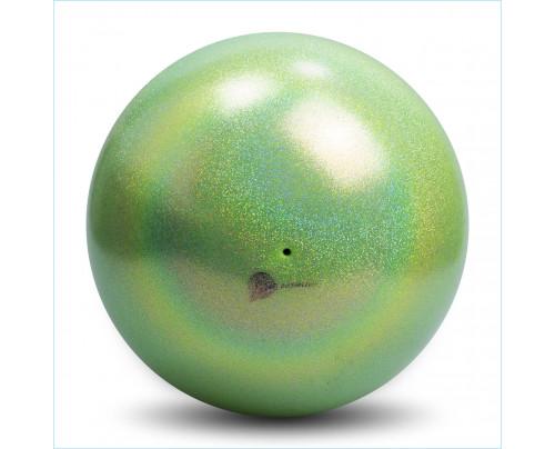 RSG Ball Pastorelli Glitter HV Lime AB Wettkampfball 18cm FIG Gymnastikball
