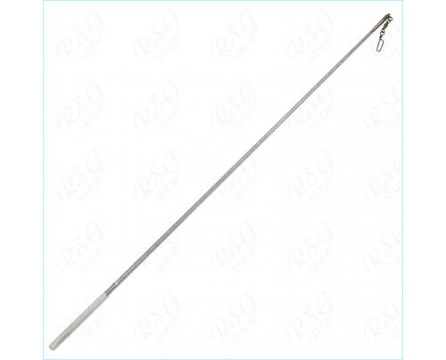 RSG Bandstab Stick Pastorelli Glitter 02035 Silber/Weiß 60cm FIG zertif.