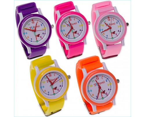 Tuloni RSG Armbanduhr T0201-1 Des. Turnerin in verschiedenen Farben wählbar