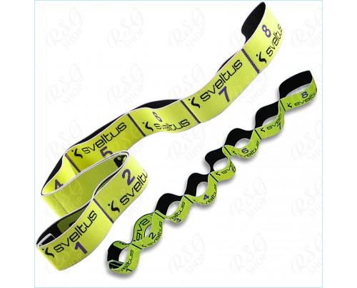 Sveltus Elastiband® 10kg S0111 gelb Fitness Gymnastik Wassergymnastik Band Expander