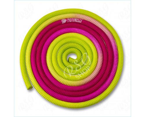 Wettkampfseil Pastorelli New Orleans 04262 Multicolor Fuxia-Rosa-Verde FIG